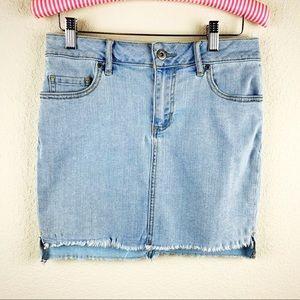 Melrose And Market Denim Skirt